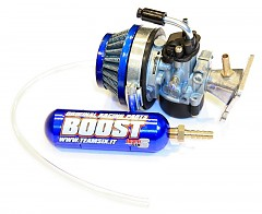 Teamsix kit carburatore Boost aircooled 49cc - 19/14mm